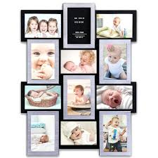 baby collage frame add on templates pack photo 12 months