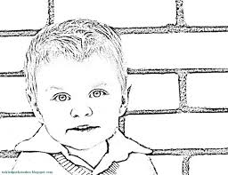 Small Picture Turn Photo Into Coloring Page chuckbuttcom
