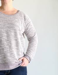 Sweatshirt Pattern Adorable The Perfect Slouchy Sweatshirt Free Pattern It's Always Autumn