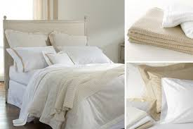 white bed sheets. Matouk-white-or-ivory-bedding-nikita-chatham-luca White Bed Sheets