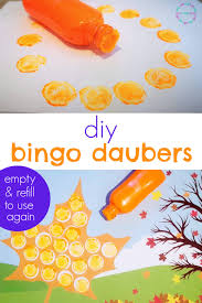 Free alphabet bingo printable for kids is a great option to use for keeping kids busy while learning at the same time! How To Make Your Own Diy Bingo Daubers Step By Step Guide