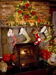 Chimney Christmas Decorations 27 inspiring christmas fireplace mantel  decoration ideas - digsdigs