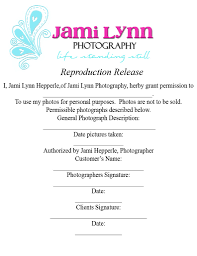 Photography Copyright Release Form Copyright Release Form Paper Size Jami Hepperle Flickr 7