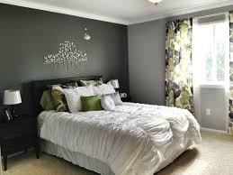 Modern Grey Bedroom Walls