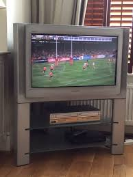 sony tv 30 inch. sony trinitron 30 inch tv with stand . collect fulham tv