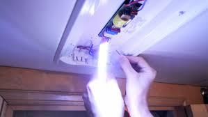image of rv light fixtures install