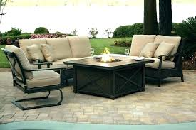 outdoor furniture set with fire pit cosy fire pit dining sets fire pit table sets patio