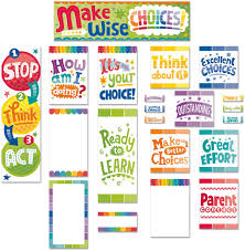 Motivational Charts For School Behavior Clip Chart Mini Bulletin Board Set Paint Ctp6952