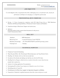Mainframe Resume Sample Mainframe Resume Sample Awesome Sample Resume For Experienced 2