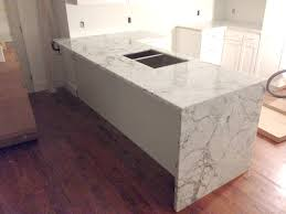 greatest waterfall counter artistic stone kitchen and bathartistic stone ym49