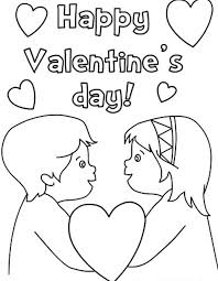 Small Picture Girl Valentine Coloring Pages Coloring Pages