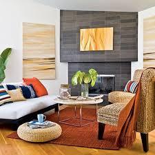Orange Rug Living Room
