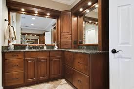 Rustic style interior design bathroom