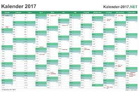 Excel Kalender Excel Kalender 2017 Kostenlos