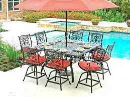 counter height patio sets bar height outdoor dining table set patio table and chairs bar