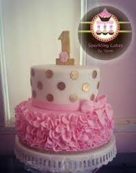 Baby Girl Birthday Cake My S First Loved It Princess Party 839960