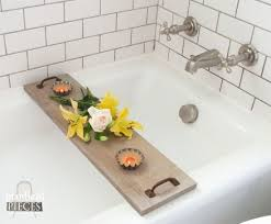 build a bathtub tray using reclaimed or new wood and repurposed materials with this diy tutorial