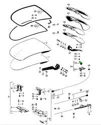 porsche 356 engine lid lock upper part 64451251106 64451251106 1 zoom in 2