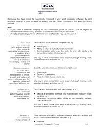 Copy Resume Format | Resume Format And Resume Maker