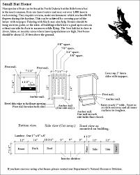 build a bat house small bat