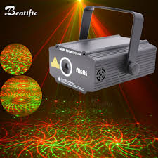 Laser Light Party Machine Mini Laser Projector Lumiere Light Music Equipment For Disco