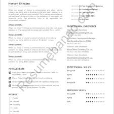 Fancy Free Resume Search Database Philippines Inspiration