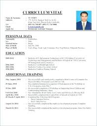Perfect Resume Example