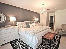 Black And White Master Bedroom Decorating Ideas | Home Interior ...