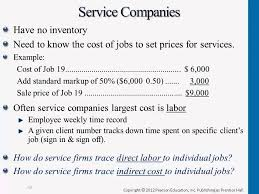 Example Of Unit Price Service Company Calculating Unit Costs Youtube
