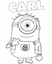 Small Picture Minions Coloring Book