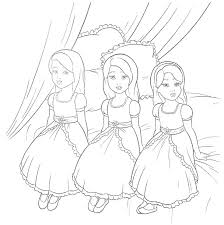 Coloring Pages Barbie Coloring Pages Barbie As The Island Princess