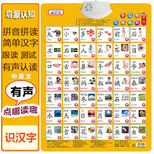 Chinese Sound Chart Usd 9 06 Childrens Chinese Cognitive Literacy Stroke