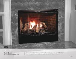b vent gas fireplace by heat glow 1 reveal 12