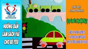 Hướng Dẫn Làm Trang Sách Với Chủ Đề Giao Thông (traffic) | DIY products |  gift online