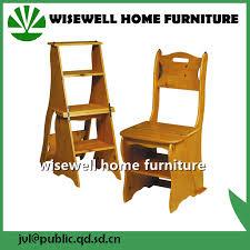 china pine wood convertible 3 step library ladder chair china ladder chair convertible chair