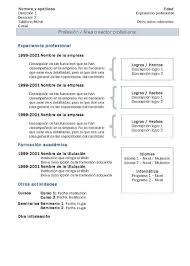 Modelli Di Cv Modello 2 Modelli Di Curriculum Vitae