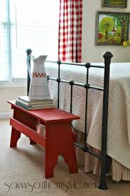 Red Bedroom Bench 17 Best Ideas About Red Bench On Pinterest Garden Bench Cushions