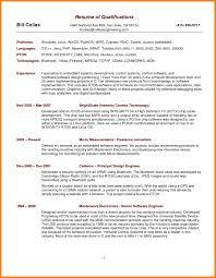 cv key qualifications  madratco