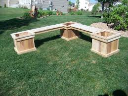 36 planter bench plans famous planter bench plans good therefore diy and combination with medium image