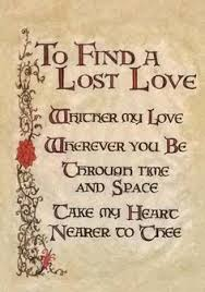 to find a lost love charmed book of shadowscharmed spellsmagic