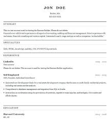 Free Online Resume Builder And Download Free Resume Builder Download