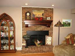 beautiful fireplace mantel design red brick decorating ideas and casual living a