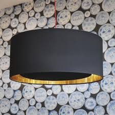black and gold ceiling light photo 7