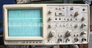 hitachi oscilloscope. see larger image hitachi oscilloscope 3