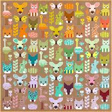 Animal Quilt Patterns Gorgeous Patterns By Elizabeth Hartman DELIGHTFUL DESERT Pdf Quilt Pattern