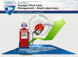 voyager fleet card great lakes area report cover