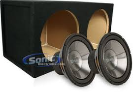 bass package infinity 1262w subwoofers mdfd12 dual 12\