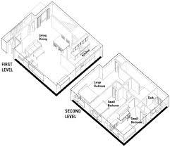three bedroom units university housing L Shaped Home Floor Plans three bedroom square shape two level apartment floor plan l shaped house floor plans