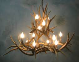 full size of lighting exquisite real antler chandelier 23 505 12 20lt medium muledeer ponderosa real