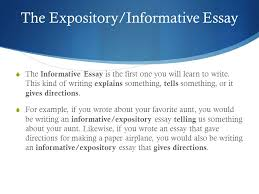 expository informative essay ppt video online  the expository informative essay